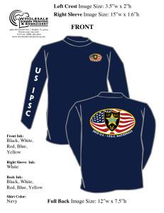 USIPSC L:S shirt